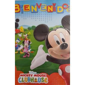 Cartel Feliz Cumple Mickey