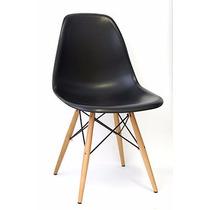 Cadeira Dkr - Charles Eamens - Base Madeira - 12x Sem Juros
