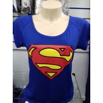 Blusinha Feminina Super Man