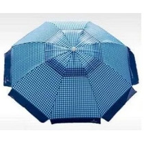 Guarda Sol Nautika 100% Poliéster Grande 2,10 M- Azul