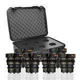 Veydra V1-6lenskitcasem Mini Prime 6 Lens Kit With Manual