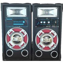 Parlante Bafle Sd/usb Bluetooth Y Radio Fm 6.5 Pulgadas