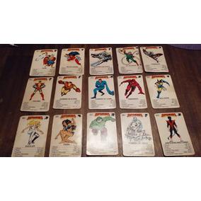 Cartas Marvel 1985 Vintage Coleccion Retro