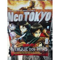 Revista Neo Tokyo Ed 112 - Ataque Dos Titãs