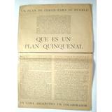 2º Plan Quinquenal 1953 A 1957. Perón, Peronismo, Eva, Evita