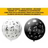Balões Personalizados N°09 Tema Música São Roque - 50 Und