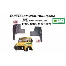 Tapete Borracha Original Caminhão Mb 1113 2013 S/feltro