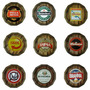 Tampa De Barril C/ Moldura- Decorativa- Retrô-cerveja-wiskey