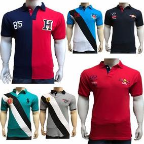 Kit 5 Camiseta Camisa Gola Polo Marcas Especiais No Atacado