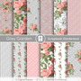 Kit Fondos Flores Shabby Vintage Rosa Dia De Las Madres Boda