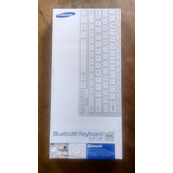 Teclado Samsung Bluetooth Ej Bt-230 Color Blanco Poco Uso