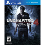 Uncharted 4 A Thief´s End Fisico Ps4 Sellado   Latino
