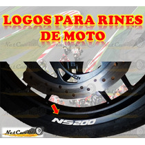 Stickers Calcas Logos Rin Motos Pulsar 200ns Fz Ktm Invicta