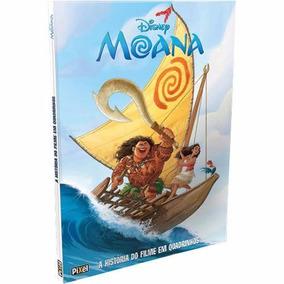 Livro Disney Moana A História Do Filme Em Quadrinhos Frete10