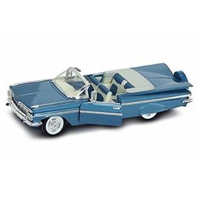 1959 Chevrolet Impala Convertible, Azul - Firma Carretera
