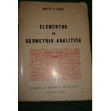 Elementos De Geometria Analitica