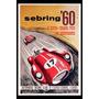 Carteles Antiguos Chapa 60x40cm Gran Prix Sebring Au-468