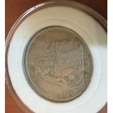 Moneda Peruana De 1/2 Sol De Plata. 1927. Libertad