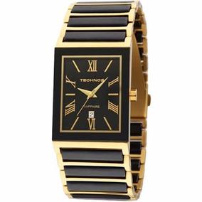 Relógio Technos Ceramic Elegance Safira 2015cf/4p - 5atm