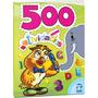 Livro Infantil Colorir 500 Atividades 96pag Bicho Esperto