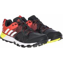 Zapatillas Adidas Running Kanadia 8 Trail Hombre Negro C/nar