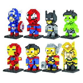 Encanto Regalo 8 Set Loz Diamante Bloques De Iron Man, Capi