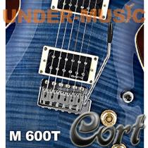 Guitarra Cort M600 T Con Palanca Tremolo Mics Duncan Design