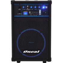 Caixa Amplificada Oneal Ocm-290 Multiuso 50w Rms Usb Sd Fm