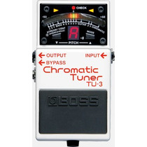 Pedal Boss Tu-3 Afinador Chromatic Tunner Musical Store