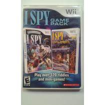Wii I Spy Game Pack $285 Pesos - Seminuevo - Vendo / Cambio