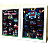Quadro Chalkboard Com Moldura E Vidro 20x30