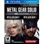 Metal Gear Solid Hd Collection Nuevo Ps Vita Dakmor Canj/ven