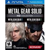 Metal Gear Solid Hd Collection Fisico Nuevo Ps Vita Dakmor