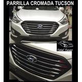 Parrilla Delantera Full Cromada Hyundai Tucson 2011 2015
