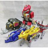 Megazord Power Ranger Para Armar - Patrones Plantillas