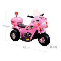 Moto Elétrica Infantil Para Criança De 2 A 4 Anos