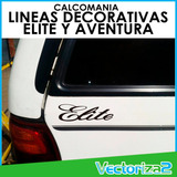 Calcomanias Lineas Ford Bronco Ford Explorer Elite Aventura