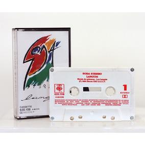 Cassette Soda Stereo Languis 1989 Sello Cbs // Nuevo !!!