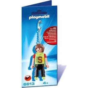 Playmobil Set 6613 Llavero Muchacho Moderno Ciudad Rock Js