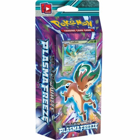 Deck Pokémon Congelamento De Plasma Leafeon Black E White
