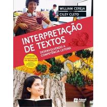 Livro Interpretação De Textos Editora Atual