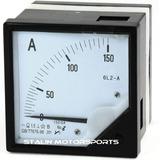 Amperimetro 150 Amperios Instrumento Medición Panel 72mm