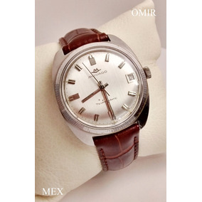 Reloj Movado Automatico Movado Zenith Acero 35mm Vintage