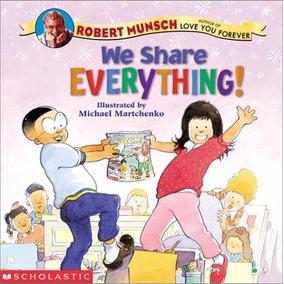 Livro Importado We Share Everything!