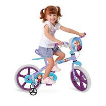 Bicicleta Bandeirante Infantil Feminina Frozen - Aro 14