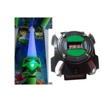 Brinquedo Infantil Ben 10 Espada Com Luz Som + Relógio
