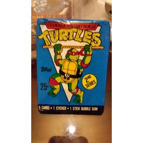 Tortugas Ninja Cartas 1990 ( Sobre Sellado )