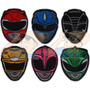 Parche Bordado Power Rangers Mighty Morphin X Unidad Adr