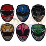 Parche Bordado Power Rangers Mighty Morphin X Unidad Adr
