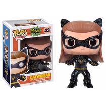Mulher Gato Catwoman- Batman 1966 Funko Pop Heroes Fu-3119